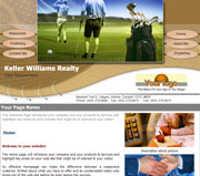 Sport website template