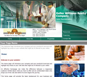 Health website template thumbnail