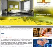 Interior website template thumbnail