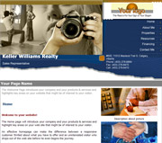 Photography website template thumbnail